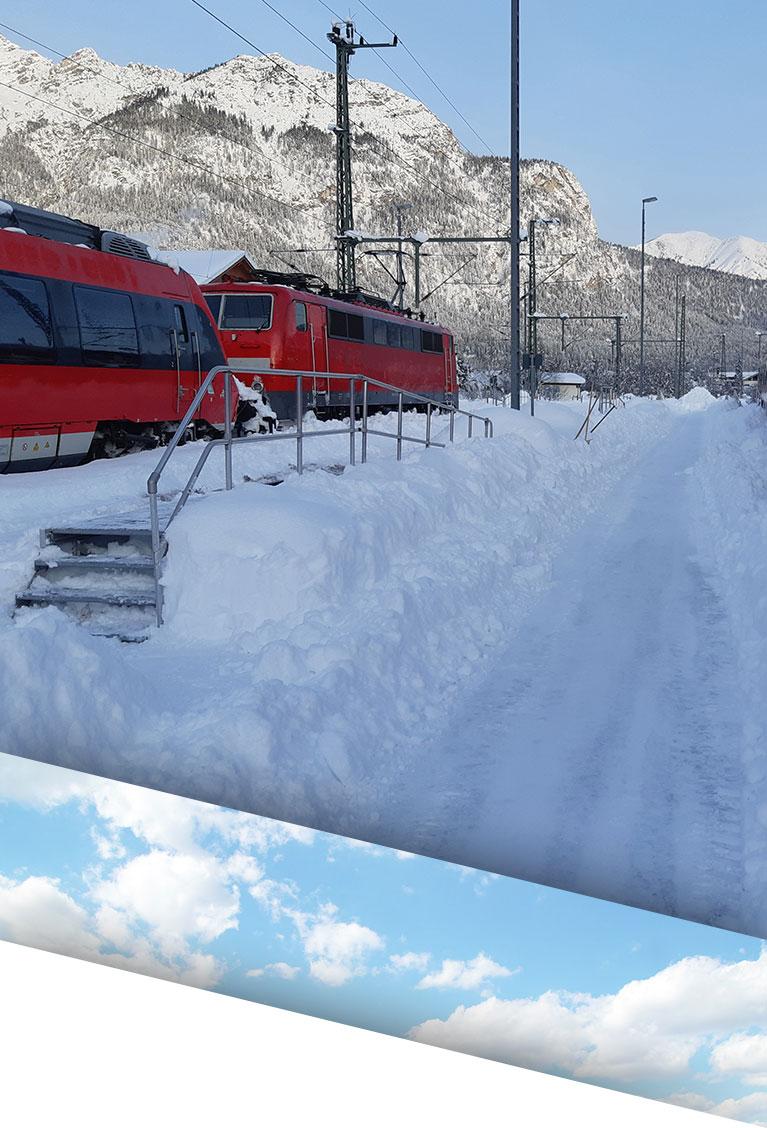 Schnee- und Streudienste sind Teil unserer Winterdienste