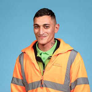 Alexandru-Ionut Honciu - Vorarbeiter Fahrzeugreinigung