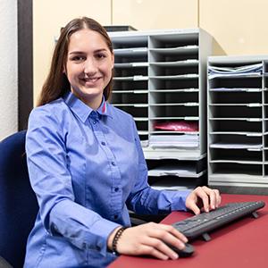 Anna Jenkner - Auszubildende 2. Lehrjahr