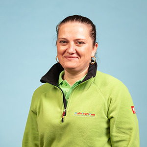 Mariana Patrascu - Vorarbeiterin Hotel Zimmereinigung
