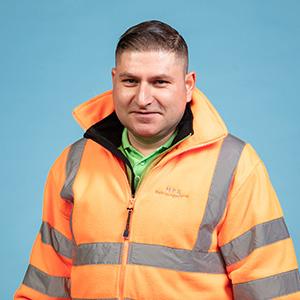 Catalin Radu - Vorarbeiter Fahrzeugreinigung München, Passing
