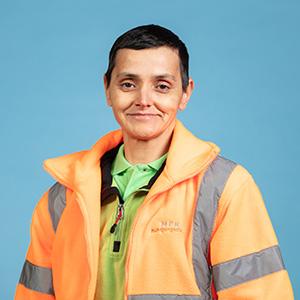 Oana-Ludovica Stoian - Schichtleiterin Fahrzeugreinigung Werdenfels
